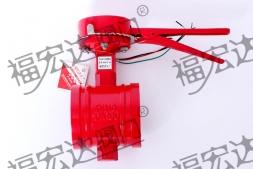 涡轮沟槽蝶阀注意事项及技术参数