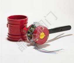 消防蝶阀是如何工作的,由哪些部件组成?